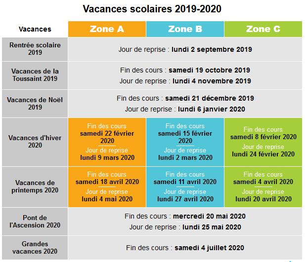Calendrier Scolaire Mai 2020.Calendrier Scolaire Ecole Primaire Joliot Curie